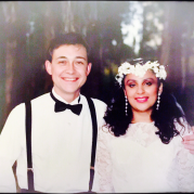1991 Wedding Picture