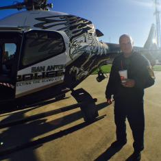 San Antonio Police Heicopter